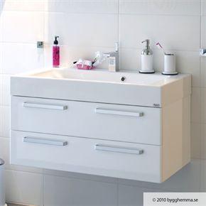 Tvättställsskåp Hafa Kioto Vit