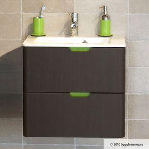 Tvättställsskåp Hafa Lime Wenge